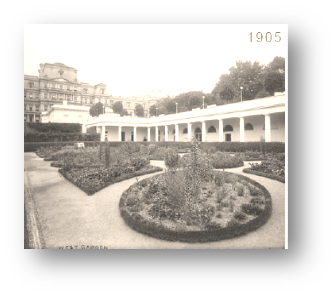 Jardín Colonial de Eleanor Roosvelt 1902 - Vista 2
