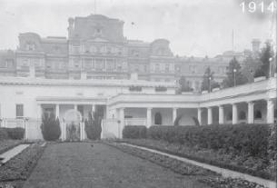 Vista aérea y detalle de la renovación de Ellen Wilson en 1913 - Vista 2